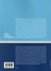 La propriété fiduciaire : nature et régime - 4ème de couverture - Format classique