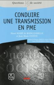 Conduire une transmission en PME - Couverture - Format classique