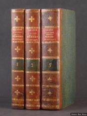 Mémoires de Physique et de Chimie, de la Société d'Arcueil - Couverture - Format classique