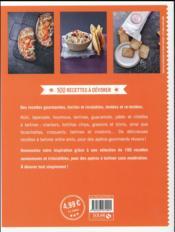 Apéros tartines à partager - 4ème de couverture - Format classique