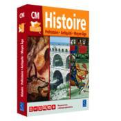 Cle histoire cm : prehistoire, antiquite, moyen age - Couverture - Format classique