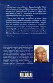 Younoussi Touré ; l'enfant du lac Takiti au Mali - 4ème de couverture - Format classique