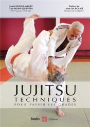 Jujitsu ; techniques pour passer les grades - Couverture - Format classique