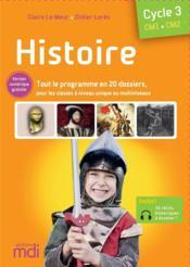 Histoire ; CM1, CM2 ; cycle 3 (édition 2020) - Couverture - Format classique
