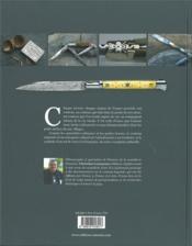 Couteaux de France ; histoire des couteaux régionaux - 4ème de couverture - Format classique