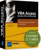 VBA Access (versions 2019 et Microsoft 365) ; coffret de 2 livres : maîtrisez la programmation sous Access - Couverture - Format classique