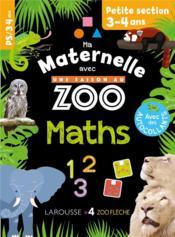 Ma maternelle avec une saison au zoo ; maths ; PS - Couverture - Format classique