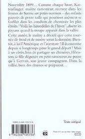 Les Hirondelles De L'Hiver - 4ème de couverture - Format classique