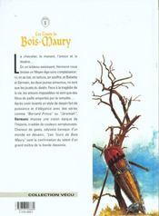 Les tours de Bois-Maury t.1 ; Babette - 4ème de couverture - Format classique