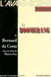 Le boomerang - Couverture - Format classique