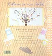 L'album de mon bébé - 4ème de couverture - Format classique