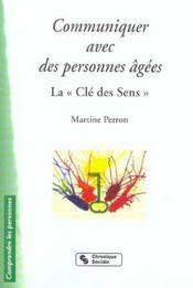 Communiquer avec des personnes agees 3e edition (3e édition) - Intérieur - Format classique