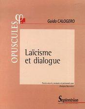 Laïcisme et dialogue - Intérieur - Format classique