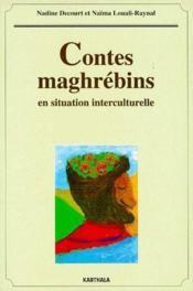 Contes maghrébins en situation interculturelle - Couverture - Format classique