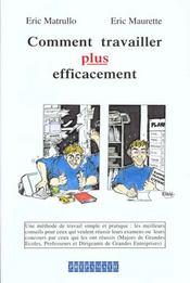Comment travailler plus efficacement - Intérieur - Format classique