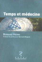 Temps et médecine - Intérieur - Format classique