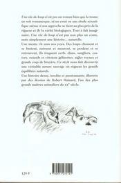 Une vie de loup - 4ème de couverture - Format classique
