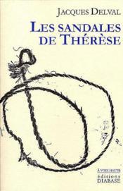 Les Sandales De Therese - Couverture - Format classique