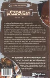 L'étoile de Pandore t.2 - 4ème de couverture - Format classique