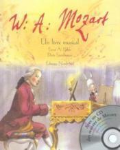 W.a.mozart livre musical avec cd - Couverture - Format classique
