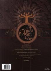 L'ordre des dragons t.2 ; le mont Moïse - 4ème de couverture - Format classique