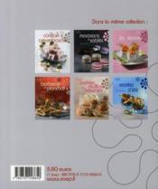 Cocktails et amuse-bouche - 4ème de couverture - Format classique