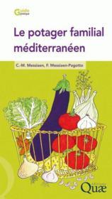 Le potager familial méditerranéen - Couverture - Format classique