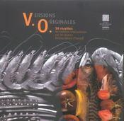 Versions originales 50 recettes de tradition reactualisees par les jeunes restaurateurs d'europe - Intérieur - Format classique