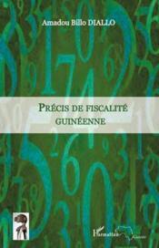 Précis de fiscalité guinéenne - Couverture - Format classique