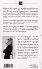 Lettre entrouverte à Alain Delon - 4ème de couverture - Format classique