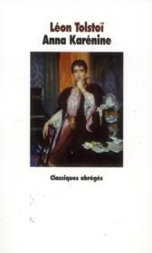 Anna Karénine - Couverture - Format classique