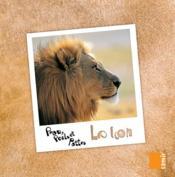 PEAU, POILS ET PATTES ; le lion - Couverture - Format classique