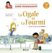 Marie-Chantal la cigale et Eugénie la fourmi ; d'après la fable de La Fontaine - Couverture - Format classique