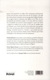 La victoire de Jaurès - 4ème de couverture - Format classique