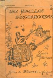Les Abeilles Bergeracoises. Bulletin N°2. - Couverture - Format classique