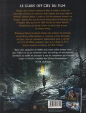 Le Hobbit ; la désolation de Smaug ; le guide officiel du film - 4ème de couverture - Format classique