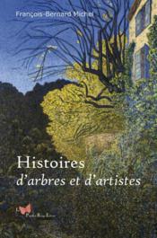 Histoires d'arbres et d'artistes - Couverture - Format classique