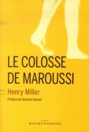 Le colosse de Maroussi - Couverture - Format classique