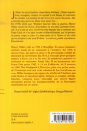 Le colosse de Maroussi - 4ème de couverture - Format classique