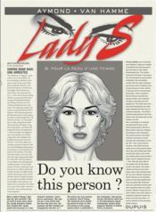 Lady S. T.9 ; pour la peau d'une femme - Couverture - Format classique