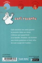 Gafi contre Dracula - 4ème de couverture - Format classique