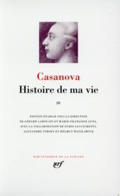 Histoire de ma vie t.3 - Couverture - Format classique