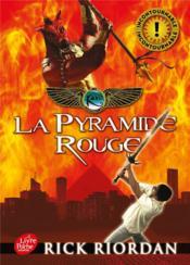 Kane chronicle t.1 ; la pyramide rouge - Couverture - Format classique