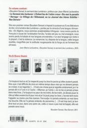 Romans (1999-2011) - 4ème de couverture - Format classique