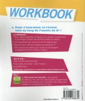 SO ENGLISH! ; worbook ; 6ème (édition 2015) - 4ème de couverture - Format classique