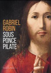 Sous Ponce Pilate - Couverture - Format classique