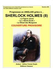 Progressez en anglais grâce à... ; Sherlock Holmes (8) - Couverture - Format classique
