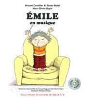 Emile en musique - Couverture - Format classique