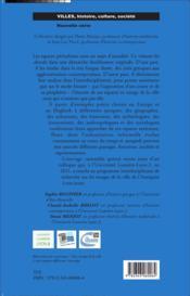 Aux marges de la ville ; paysages, sociétés, représentations - 4ème de couverture - Format classique