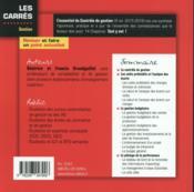 L'essentiel du contrôle de gestion 2015-2016 (9e édition) - 4ème de couverture - Format classique